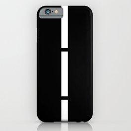 Minimal White 9 iPhone Case
