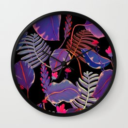 poison leaves Wall Clock