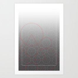 The Keywork Art Print