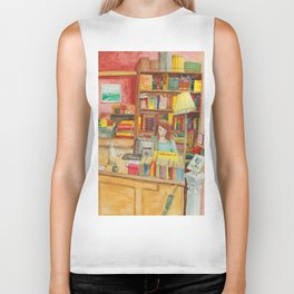 Book store Biker Tank