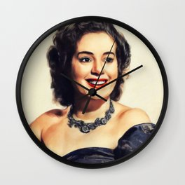 Elsa Lanchester, Actress Wall Clock