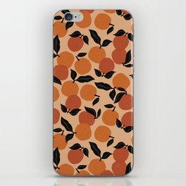 Seamless Citrus Pattern / Oranges iPhone Skin