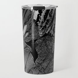 Abstract Feather and Bird Composition Travel Mug