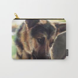A Dog Named Monkey Carry-All Pouch
