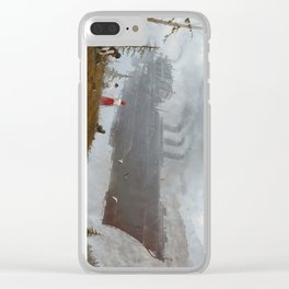 1920 - wind gambit Clear iPhone Case