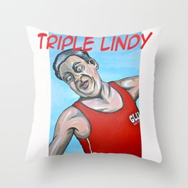 Rodney Dangerfield Back to School Throw Pillow