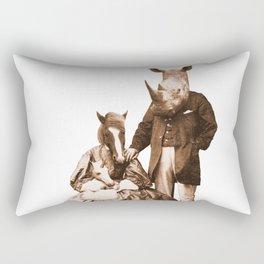 Dominant Traits Rectangular Pillow