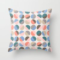 pills Throw Pillows featuring Serenity pills by Alexandra Aguilar
