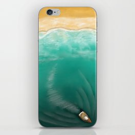 wings of dawn iPhone Skin