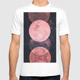 Pink Moon Phases T-shirt