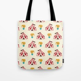 Circus With Performing Elephants Tote Bag