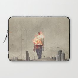 These cities burned my soul Laptop Sleeve
