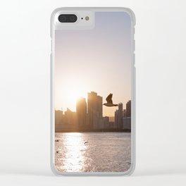 Haeundae Beach Skyline Clear iPhone Case