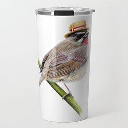 Mr. Rubythroat Travel Mug