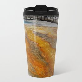 Yellowstone National Park Yellowstone Ipad Cover Pool Metal Travel Mug