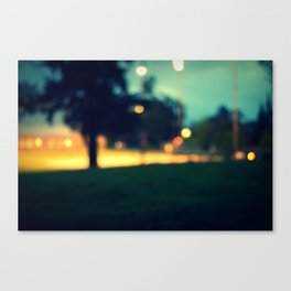 an evening in june Canvas Print