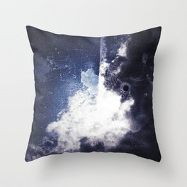 Dark Skies I Throw Pillow