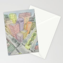 Three Points Stationery Cards