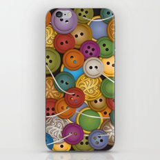 Buttons iPhone & iPod Skin
