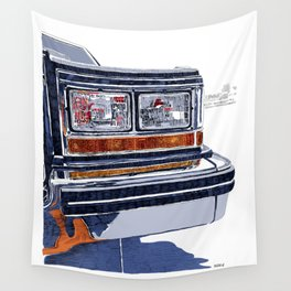 Hit the road Wall Tapestry