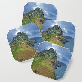 CASTLE ROCK VALLEY OF THE ROCKS EXMOOR DEVON Coaster