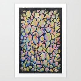Opals Art Print
