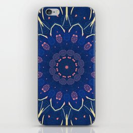 Pattern and Blues iPhone Skin