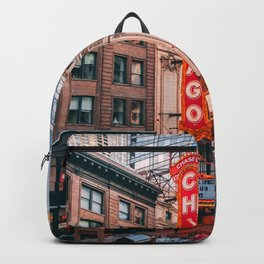USA Photography - Chicago Gene Siskel Film Center Backpack