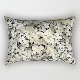 Lacy leaves Rectangular Pillow