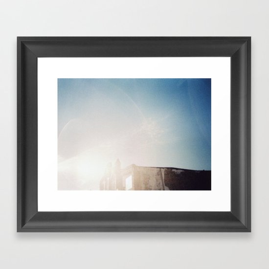 RUIN Framed Art Print