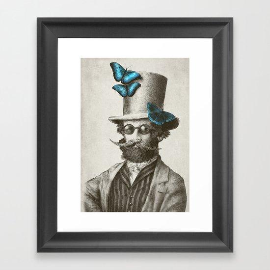 Doctor Popinjay (Color Option) Framed Art Print