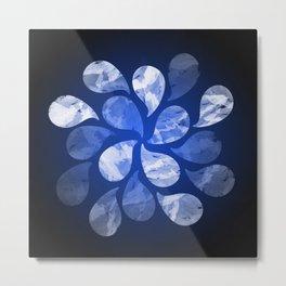 Abstract Water Drops XX Metal Print