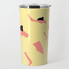 YOGA GIRL #3 Travel Mug