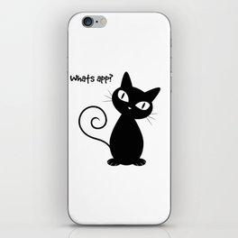 Whatsapp Cat iPhone Skin