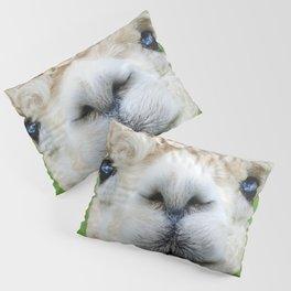 Alpaca Smile Teeth Pillow Sham