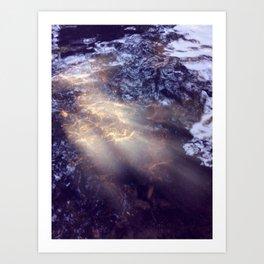 Ray Of Water Art Print
