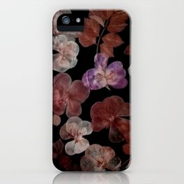 Dry flowers composition iPhone Case