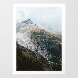 Furka Pass Art Print