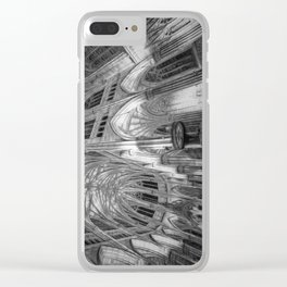St Patrick's Cathedral New York Art Clear iPhone Case
