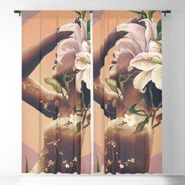 Floral beauty 3 Blackout Curtain
