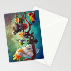 Griffins of a Feather Stationery Cards