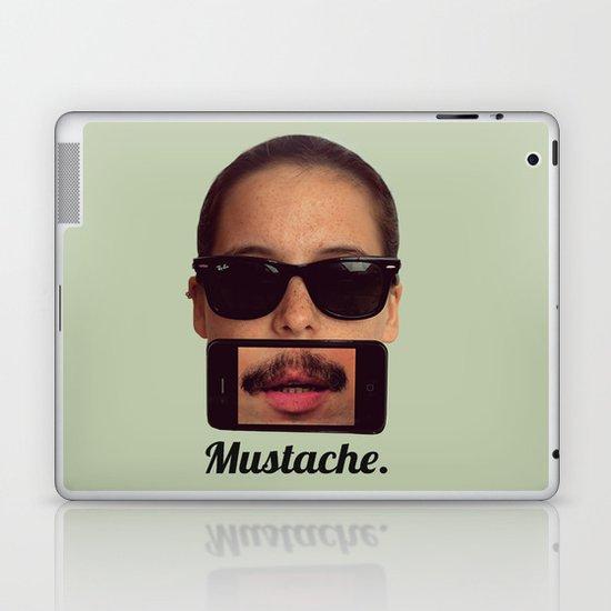 mustache~ Laptop & iPad Skin