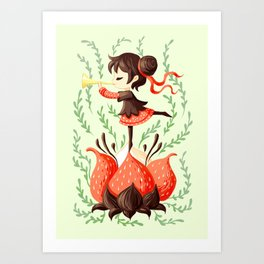 Spring Melody Art Print