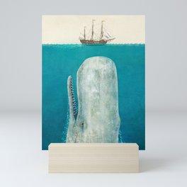 The Whale - option Mini Art Print