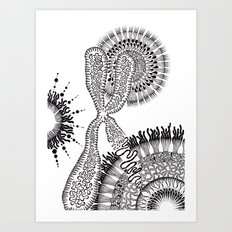 Chromosome Art Print