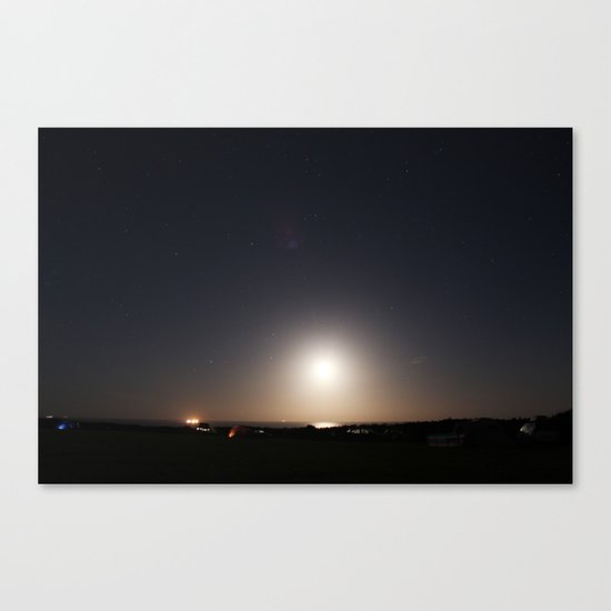 The Earth is a sphere Canvas Print