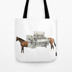 Horse Power Tote Bag