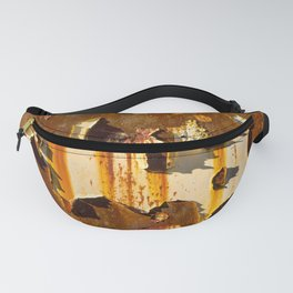 Paint on rust Fanny Pack