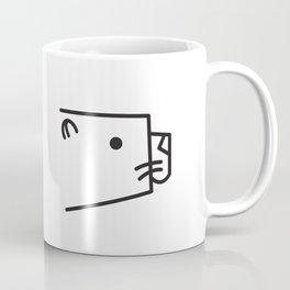 Minimalist Otter Coffee Mug
