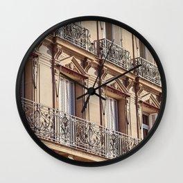 Bonjour - Paris Windows Wall Clock
